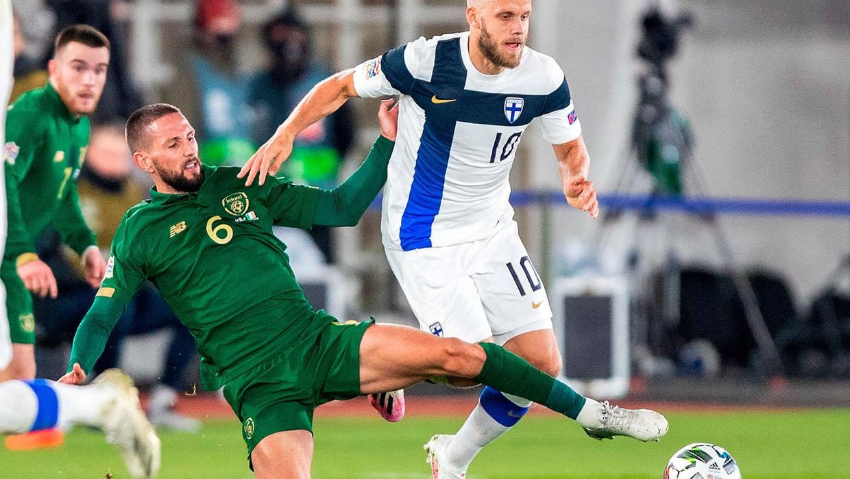 Ireland draw another blank as Kenny's side are beaten in Finland
