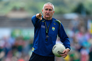 Donie Buckley, who is regarded as one of football's most gifted minds, likes room to operate as part of a coaching ticket. Photo by Brendan Moran/Sportsfile