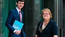 Pictured are Dr John Duddy out going President, IMO and Dr. Ann Hogan, President, IMO. Picture by Shane O'Neill Photography.