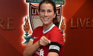 Galway native Niamh Fahey will captain Liverpool in the 2020/21 season. Image credit: Liverpool FC.
