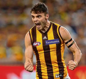 Conor Nash was close to agreeing a new two-year deal before the Covid-19 crisis. Photo: Michael Willson/AFL Media/Getty Images