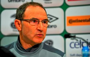 Republic of Ireland manager Martin O'Neill during a press conference today. Abbotstown, Co. Dublin. Picture credit: Sam Barnes / SPORTSFILE