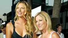 Chris Evert, right, is surprised that fellow players have not voiced their support for Maria Sharapova