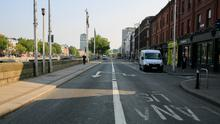 Aston Quay in Dublin's city centre pictured during the COVID-19 pandemic. Photo: Gareth Chaney/Collins