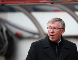 Sunderland v Manchester United - Premier League...SUNDERLAND, ENGLAND - MAY 13:  Sir Alex Ferguson of Manchester United looks on during the Barclays Premier League match between Sunderland and Manchester United at Stadium of Light on May 13, 2012 in Sunderland, England.  (Photo by Clive Mason/Getty Images)...S