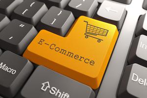 'Over the past decade, e-commerce sales here have doubled from €1.05bn to hit €2.2bn last year, according to analysts IBISWorld.' Stock photo