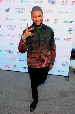 Musician Usher attends the 2015 Global Citizen Festival to end extreme poverty by 2030 in Central Park on September 26, 2015 in New York City.  (Photo by Craig Barritt/Getty Images for Global Citizen)