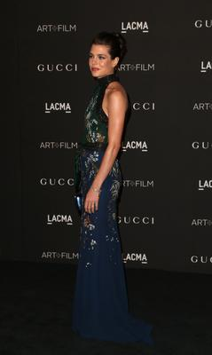 Charlotte Casiraghi attends the 2014 LACMA Art + Film Gala honoring Barbara Kruger and Quentin Tarantino presented by Gucci at LACMA