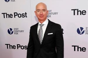 Billionaire: Jeff Bezos is the world's richest man and is worth around $200bn. Photo: Brent N. Clarke/Invision/AP