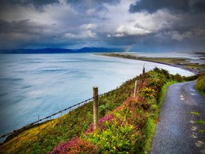 Rossbeigh in Co Kerry is a blue-flag beach of world renown