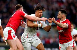 England's Anthony Watson in action. Photo: David Davies/PA Wire