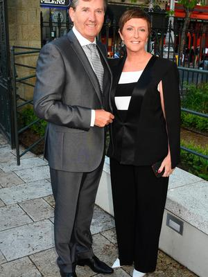 Daniel O'Donnell and Majella O'Donnell at The Pride of Ireland Awards 2015 at The Mansion House