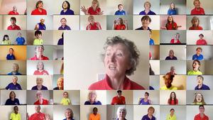 Donegal's Zoom choir