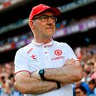 'Mickey Harte's autocratic approach to management has been unimaginative and reactive'. Photo: Stephen McCarthy/Sportsfile