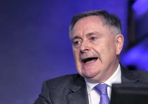 Brendan Howlin, represents a party that is (a) badly struggling in the polls, and (b) heavily dependent on public sector votes (Damien Eagers)