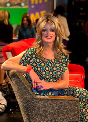 Panti Bliss during an announcement of a new season of programmes on RTE 2 at RTE studios Donnybrook, Dublin. Photo: Gareth Chaney Collins