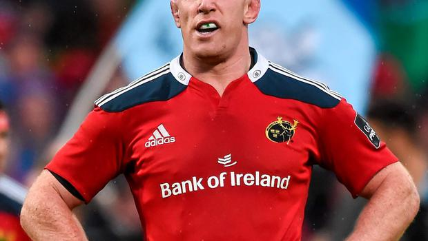 Yesterday was Paul O'Connell's final game for Munster