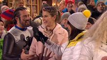 Spencer Matthews and Vogue Williams on Channel 4's The Jump