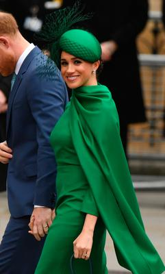 The Duke and Duchess of Sussex arrive at the Commonwealth Service at Westminster Abbey, London on Commonwealth Day