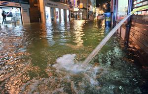 Flooding in Cork city earlier this year