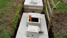 Nearly half of the septic tanks failed inspection because they were not built or maintained properly.