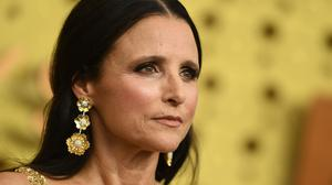 US actress Julia Louis-Dreyfus arrives for the 71st Emmy Awards at the Microsoft Theatre in Los Angeles on September 22, 2019. (Photo by VALERIE MACON / AFP)