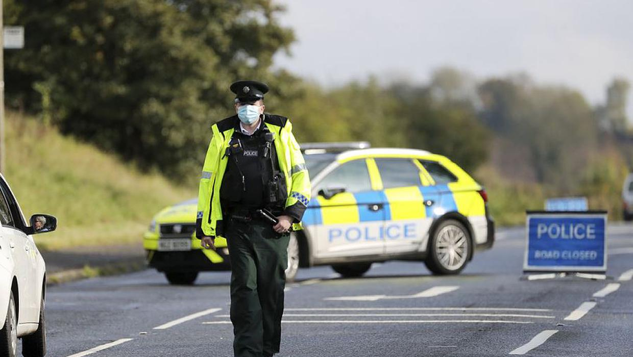 Teenager dies after the car he was driving collided with a cow