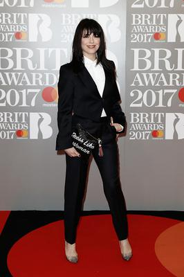 Imelda May attends The BRIT Awards 2017 at The O2 Arena on February 22, 2017 in London, England.  (Photo by John Phillips/Getty Images)