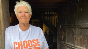 Dame Judi Dench is one of a host pf stars backing the campaign (ASOS/Choose Love)