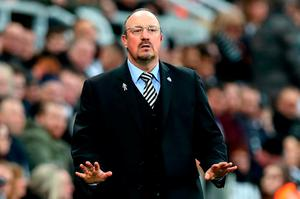 PARKING THE BUS: Newcastle United manager Rafael Benitez re-visits Anfield this afternoon. Photo: Getty Images