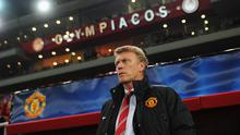 David Moyes after another defeat last night, this time at the hands of Olympiakos.