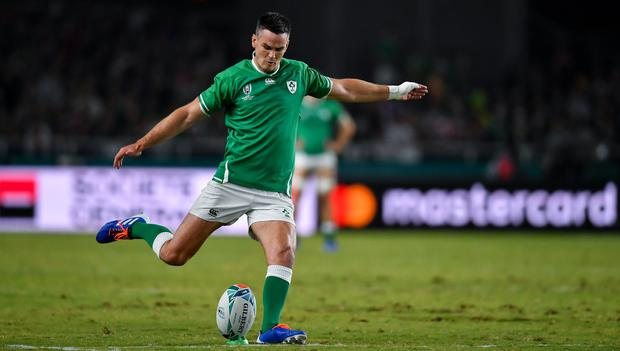 Johnny Sexton has been named as the new Ireland captain. Photo by Brendan Moran/Sportsfile