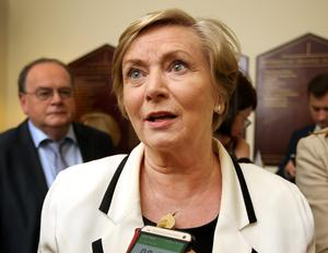 URGENT TALKS: Frances Fitzgerald is meeting Home Office officials over crisis