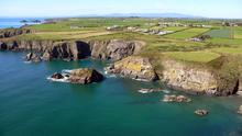 Waterford's Copper Coast, currently not part of the Wild Atlantic Way.