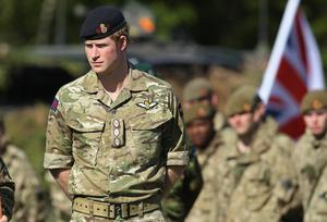 Prince Harry will leave the army after ten years of service in June