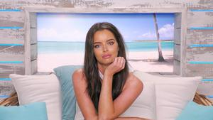 Lost love: Maura Higgins on last year's 'Love Island' – the show will not take place this summer. Photo: ITV