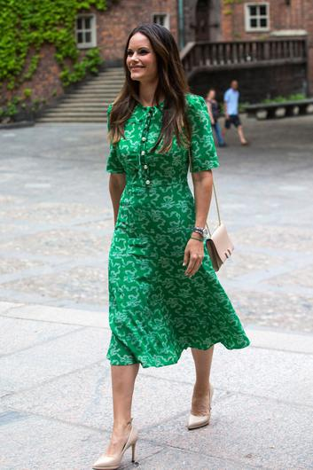Princess Sofia of Sweden attends the Sophiahemmet University's graduation ceremony at Stockholm City Hall on June 11, 2018 in Stockholm, Sweden. (Photo by MICHAEL CAMPANELLA/Getty Images)