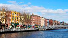 Dublin's hotels are showing occupancy levels of 76.3pc. Photo: Lucian H Milasan