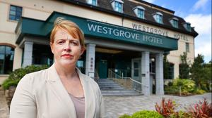 Michelle Campion, Director of Sales and Marketing at The Westgrove Hotel in Clane Co Kildare. Photo by Steve Humphreys, 7th August 2020