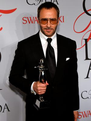 NEW YORK, NY - JUNE 01:  Designer Tom Ford poses on the winners walk at the 2015 CFDA Fashion Awards at Alice Tully Hall at Lincoln Center on June 1, 2015 in New York City.  (Photo by Larry Busacca/Getty Images)