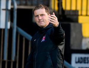Dundalk manager Vinny Perth. Photo: Sportsfile