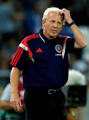 No one saw this coming. Not Gordon Strachan