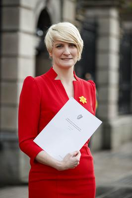 Support: Averil Power, CEO of the Irish Cancer Society. Picture: Andres Poveda