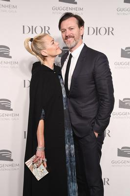 Jaime King (L) and Kyle Newman attend the Guggenheim International Gala Dinner made possible by Dior at Solomon R. Guggenheim Museum on November 15, 2018 in New York City.  (Photo by Nicholas Hunt/Getty Images for Dior)