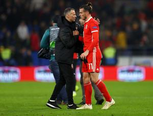 WELSH WONDERS: Ryan Giggs will rely on the class of Gareth Bale to qualify for Euro 2020. Photo: Michael Steele/Getty Images