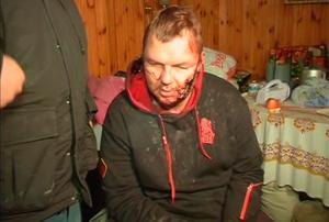 Pictures showed that Mr Bulatov's hands carried puncture wounds, possibly consistent with having been driven with nails