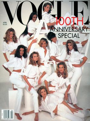 Vogue's 1992 May cover