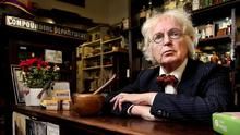 Soap star: PJ Murphy, managing director of Sweny's pharmacy on Lincoln Place, which featured in James Joyce's 'Ulysses'. Photo: Steve Humphreys