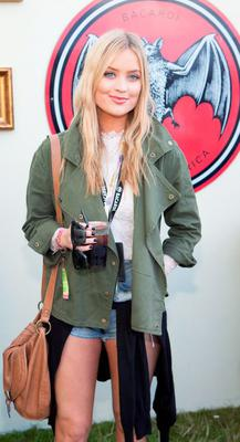 NO REPRO FEE Sunday September 6th: Pictured is Laura Whitmore enjoying Stradbally's ultimate party at CASA BACARD? 2015. BACARD?? rum this year returned to a sold out Electric Picnic, boasting a stellar line-up of international DJ's as well as top home grown Irish talent. Throughout the weekend, festival goers were treated to incredible DJ sets from legendary house music DJ Joey Negro, Domino Six's very own George Fitzgerald, true turntable trailblazer A-Skillz and Jackmaster who brought his highly sought after act to the CASA BACARD? centre stage. Award winning BACARD? bartenders also treated music fans to Ireland's festival favourite cocktails, including the BACARD? Cuba Libre and BACARD? Mojito.  For more information on CASA BACARD? 2015, visit BACARD? on Facebook or @BacardiIreland on Twitter #casabacardi  Picture: Tony Kinlan/Kinlan Photography