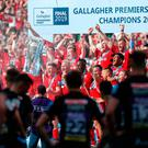 Saracens will be relegated from the Premiership at the end of the season